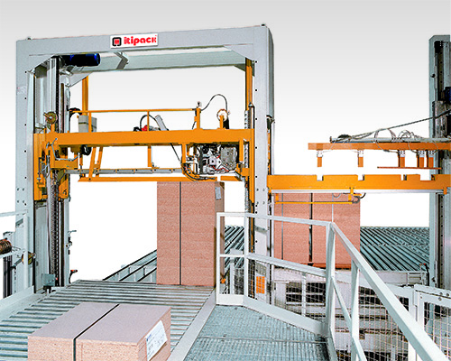 timber strapping machine